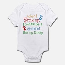 Drummer Like Daddy Infant Bodysuit