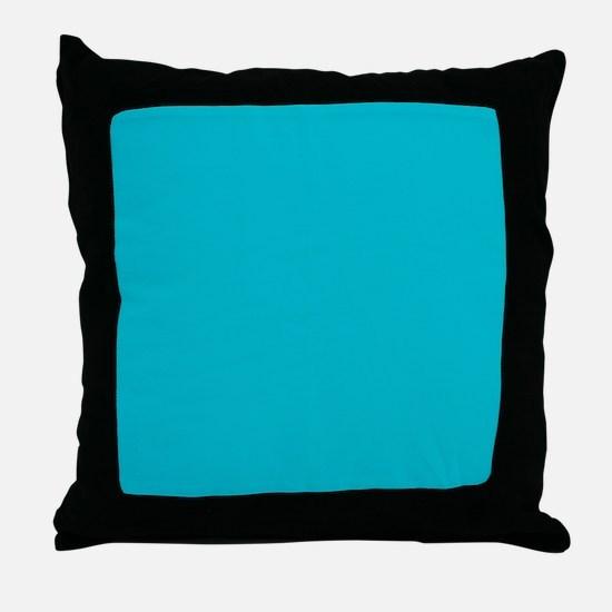 Unique Tiffany blue Throw Pillow
