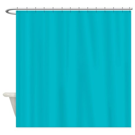 abstract turquoise teal blue Shower Curtain