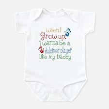 Dulcimer Player Like Daddy Infant Bodysuit