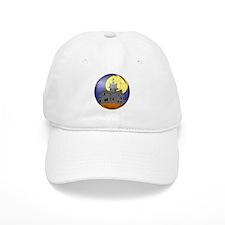 Haunted House Baseball Cap