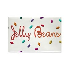Jelly Beans Rectangle Magnet (100 pack)