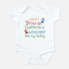 Electrical Engineer Like Daddy Infant Bodysuit