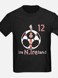 Northern Ireland fans football graphic T-Shirt