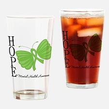 Mental Health Drinking Glass