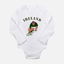 Ireland style rugby player Body Suit