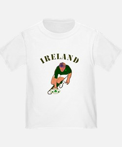 Ireland style rugby player T-Shirt