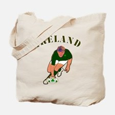 Ireland style rugby player Tote Bag