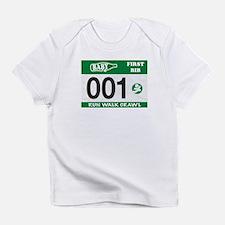 Cute Running baby Infant T-Shirt