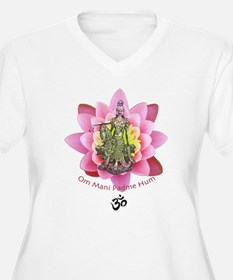 Kuan Yin Mantra Plus Size T-Shirt