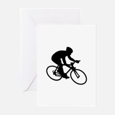 Cycling race Greeting Cards (Pk of 20)