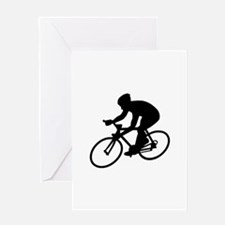 Cycling race Greeting Card