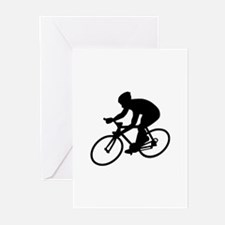 Cycling race Greeting Cards (Pk of 10)