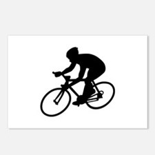 Cycling race Postcards (Package of 8)