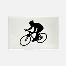 Cycling race Rectangle Magnet