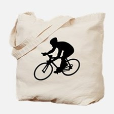Cycling race Tote Bag