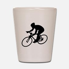 Cycling race Shot Glass