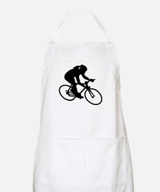 Cycling woman girl Apron