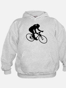 Cycling woman girl Hoodie