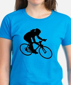 Cycling woman girl Tee