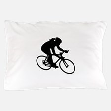 Cycling woman girl Pillow Case