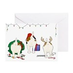 Jack Russell Greeting Cards (Pk of 20)