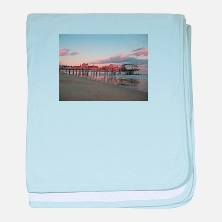 Old Orchard Beach baby blanket