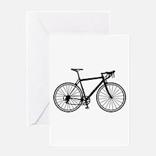 Racing bicycle Greeting Card