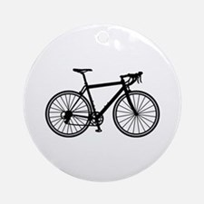 Racing bicycle Round Ornament