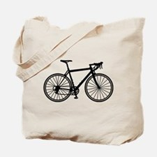 Racing bicycle Tote Bag