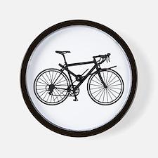 Racing bicycle Wall Clock