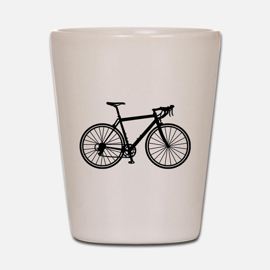 Racing bicycle Shot Glass