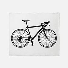 Racing bicycle Throw Blanket