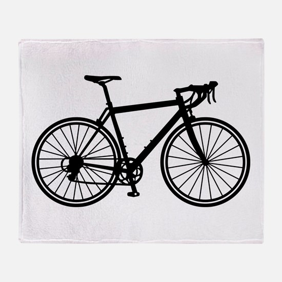 Racing bicycle Throw Blanket