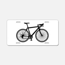 Racing bicycle Aluminum License Plate