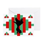 Jack Russell Terrier Christmas Cards (Pk of 10)