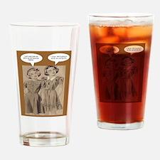 Future Hippies Drinking Glass