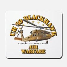 UH - 60 Blackhawk - Air Warfare Mousepad