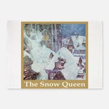 The Snow Queen 5'x7'Area Rug
