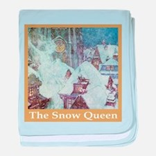 The Snow Queen baby blanket