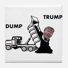 Dump Trump Tile Coaster