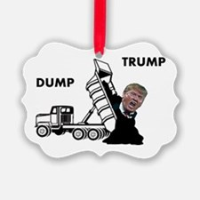 Dump Trump Ornament