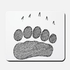 Grizzly Track Mousepad