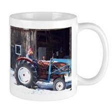 Hired Hand Rooster Working Mugs