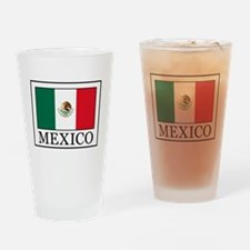 Funny Mexicana Drinking Glass