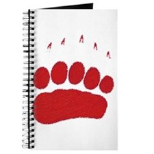 Bear Grizzly Track Journal