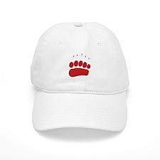 Bear Grizzly Track Baseball Cap