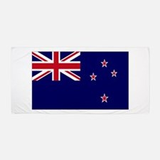 New Zealand Flag Beach Towel
