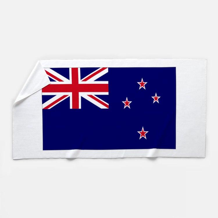 New Zealand Flag Beach Towel