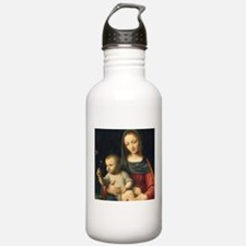 The Madonna of the Car Water Bottle